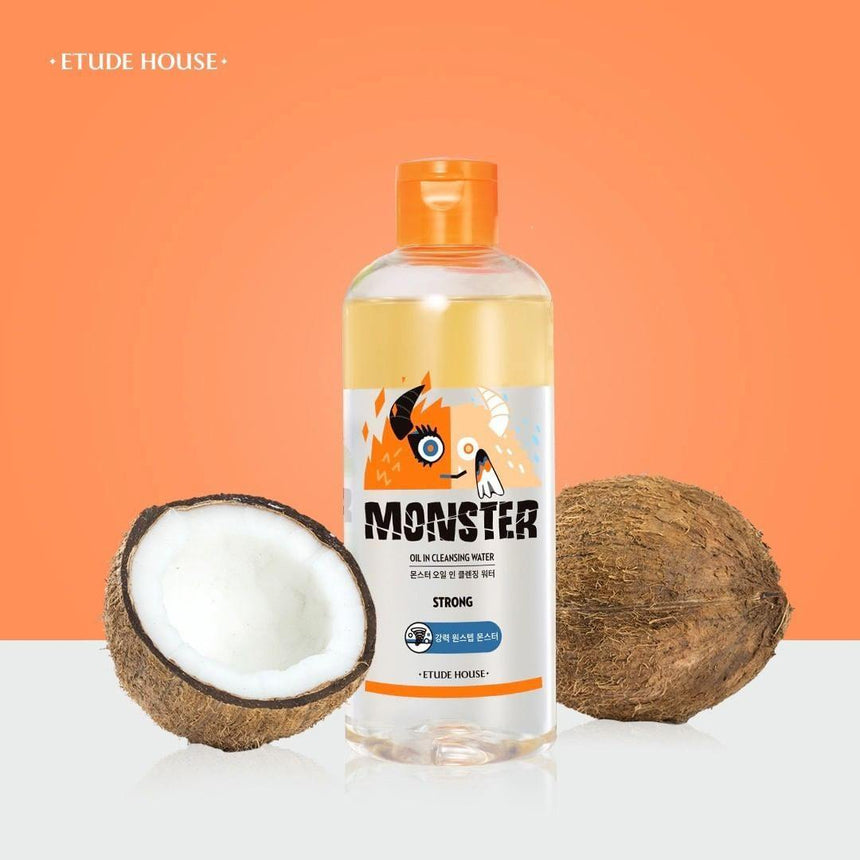 Nước Tẩy Trang Etude House Monster Oil In Cleansing Water - Kallos Vietnam