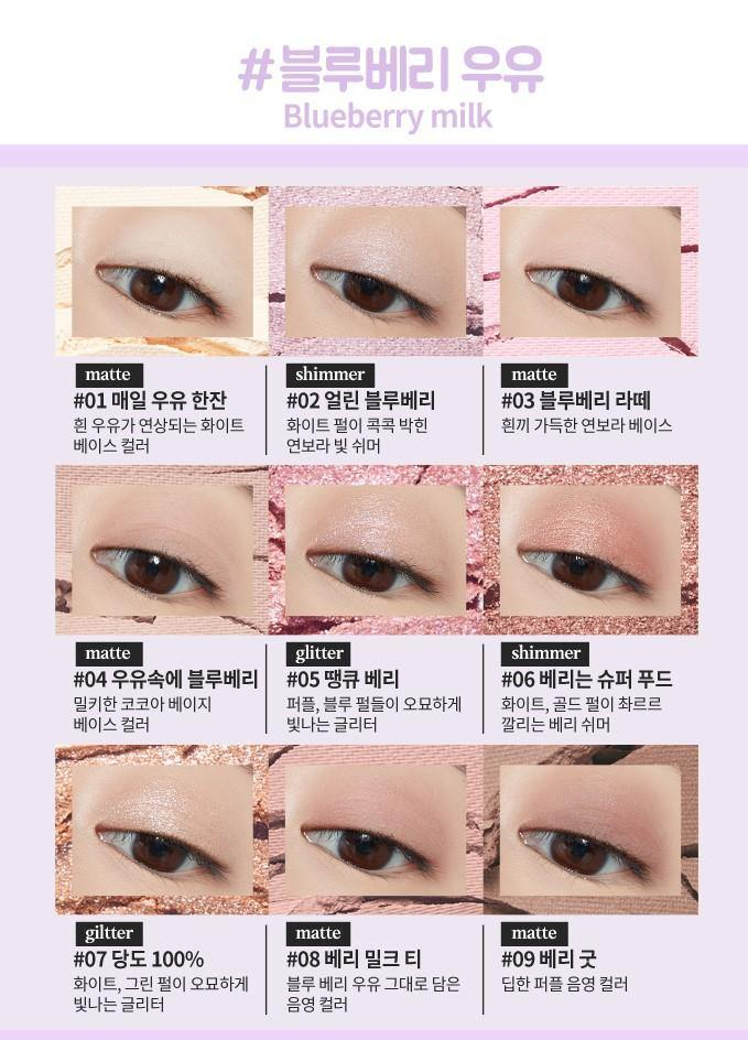 Phấn Mắt Etude House Play Color Eyes Milky New Year - Kallos Vietnam