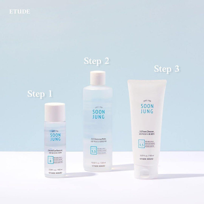 Tẩy Trang Etude House Soon Jung Lip and Eye Remover - Kallos Vietnam