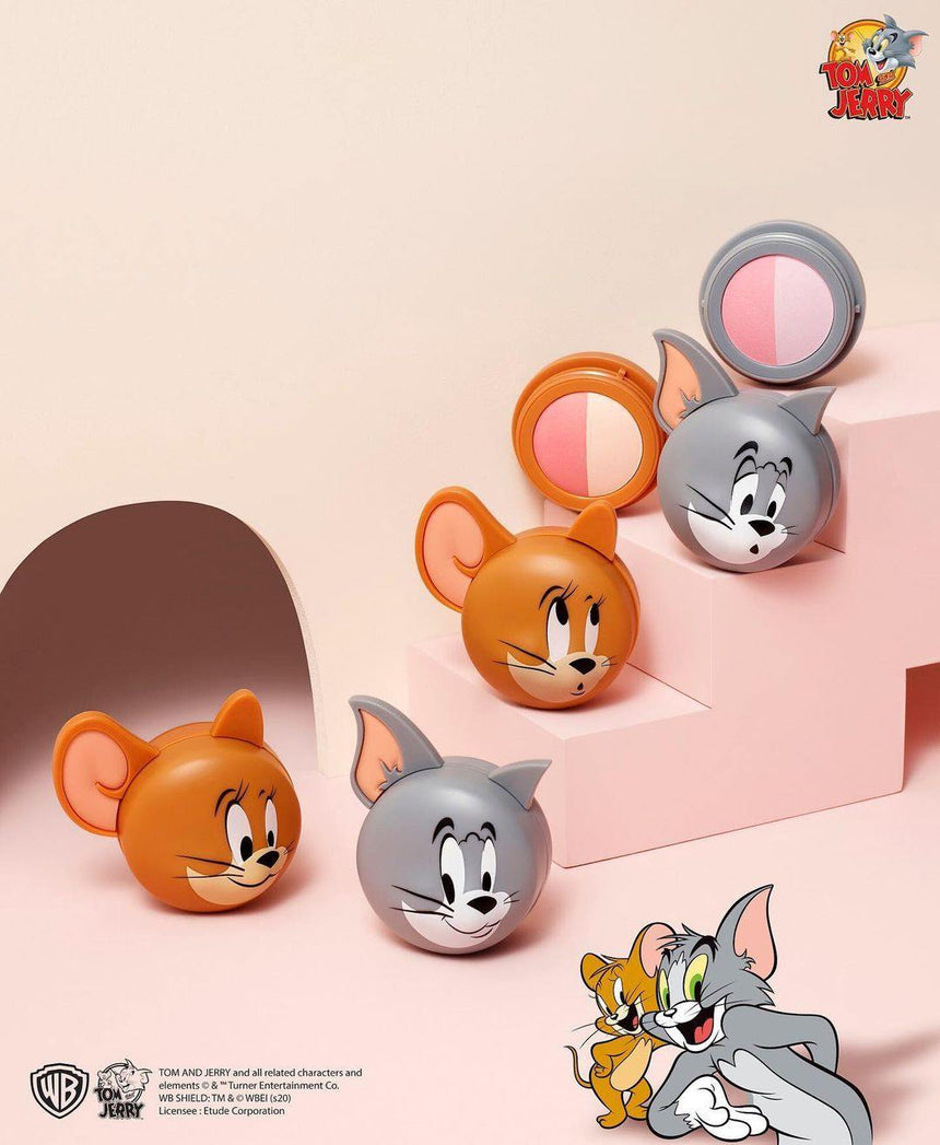 Phấn Má Hồng Etude House Tom Jerry Two Tone - Kallos Vietnam