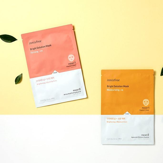 Mặt Nạ Innisfree Bright Solution Mask - Kallos Vietnam