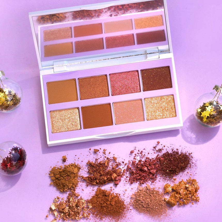 Review phấn mắt Innisfree Green Holidays Glam Mood Palette