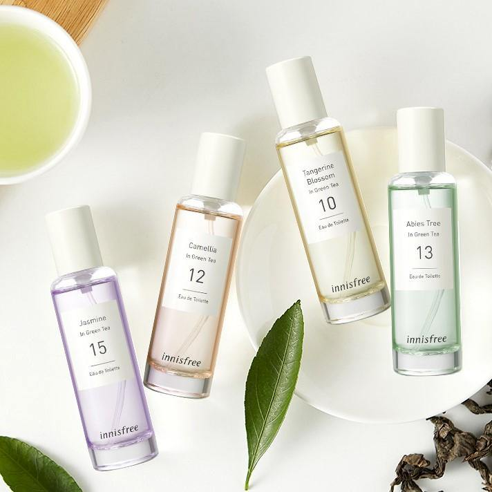 Nước Hoa Innisfree Green Tea Eau De Toilette Collection - Kallos Vietnam
