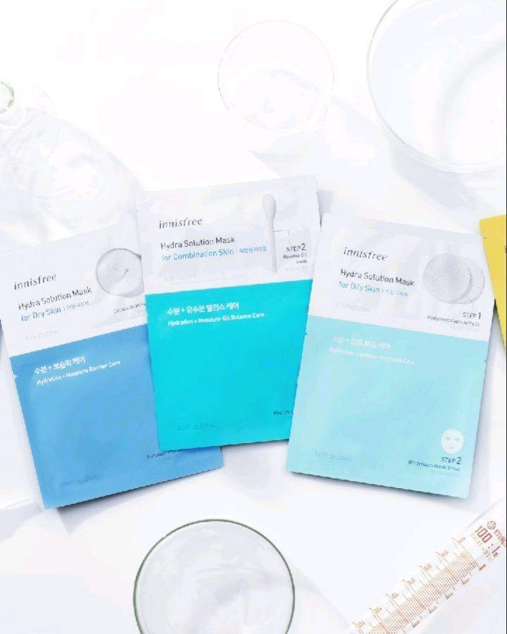 Mặt Nạ Innisfree Hydra Solution Mask - Kallos Vietnam