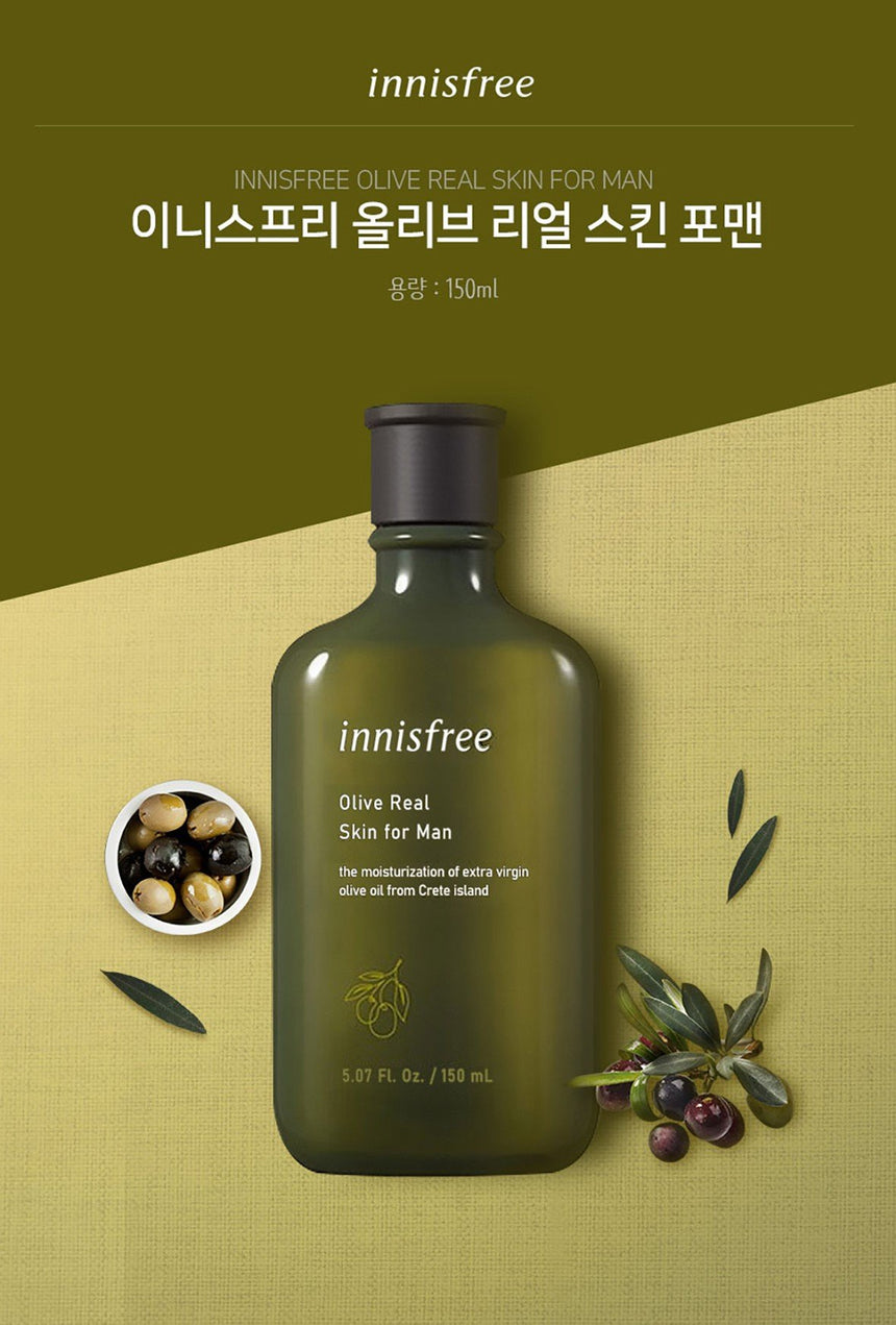 Dưỡng Thể Innisfree Olive Real Lotion For Men - Innisfree - Kallos Vietnam