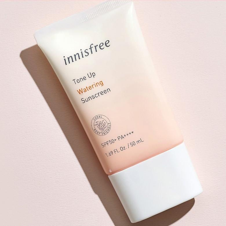 Kem Chống Nắng Innisfree Tone Up Watering Sunscreen