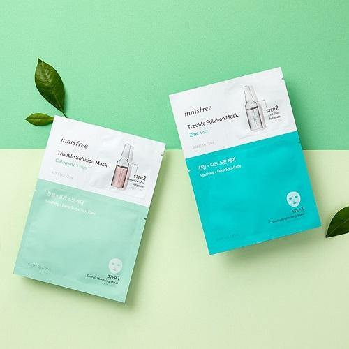 Mặt Nạ Innisfree Trouble Solution Mask - Kallos Vietnam