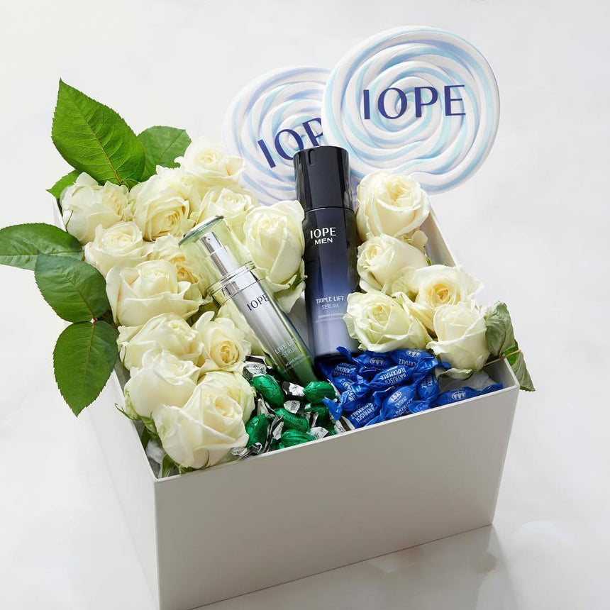 Tinh Chất IOPE Men Triple Lift Serum - Kallos Vietnam