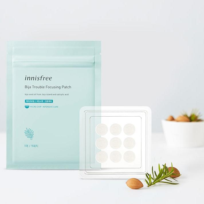 Dán Mụn Innisfree Bija Trouble Focusing Patch - Kallos Vietnam