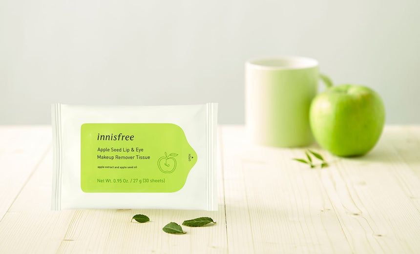 Giấy Tẩy Trang Innisfree Apple Seed Cleansing Tissues - Kallos Vietnam