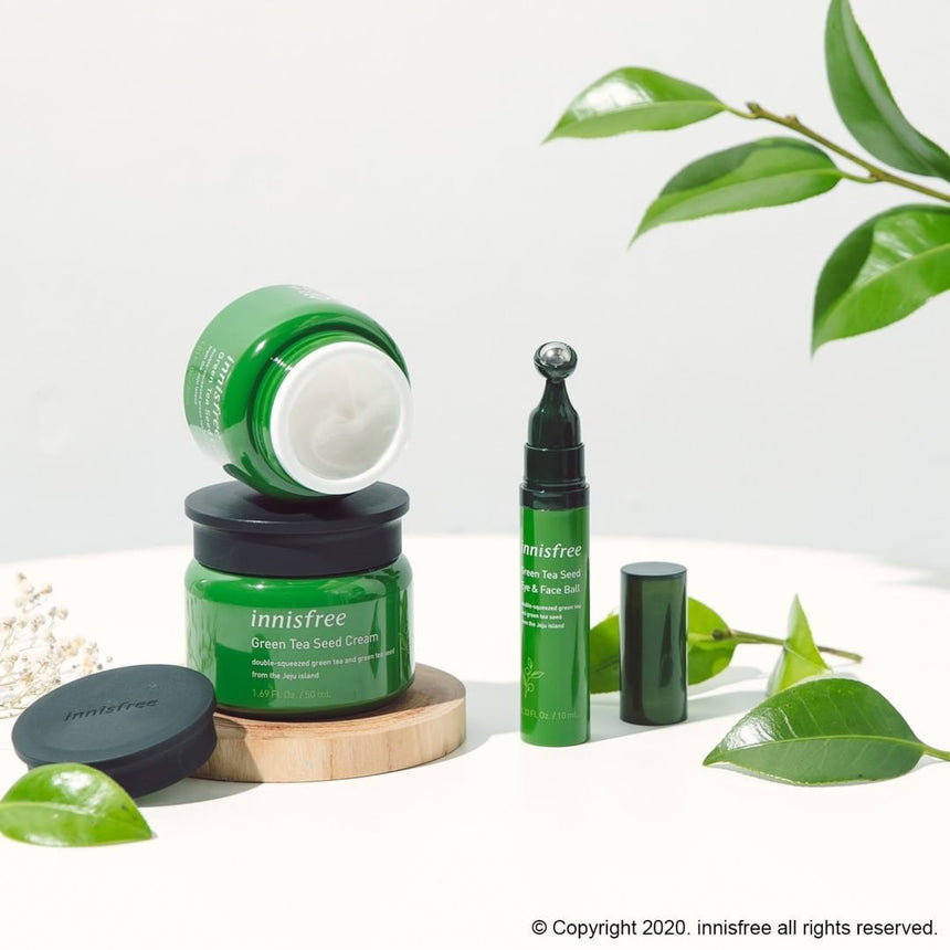 Kem Dưỡng Innisfree Green Tea Seed Deep Cream - Kallos Vietnam