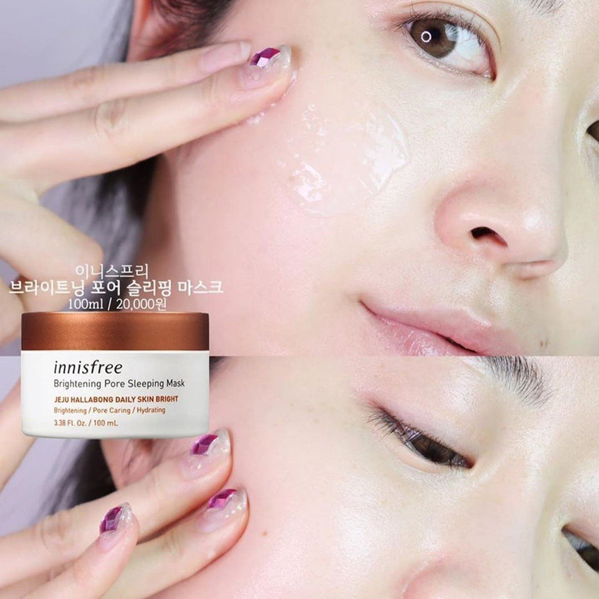 Mặt Nạ Innisfree Brightening Pore Sleeping Mask - Kallos Vietnam