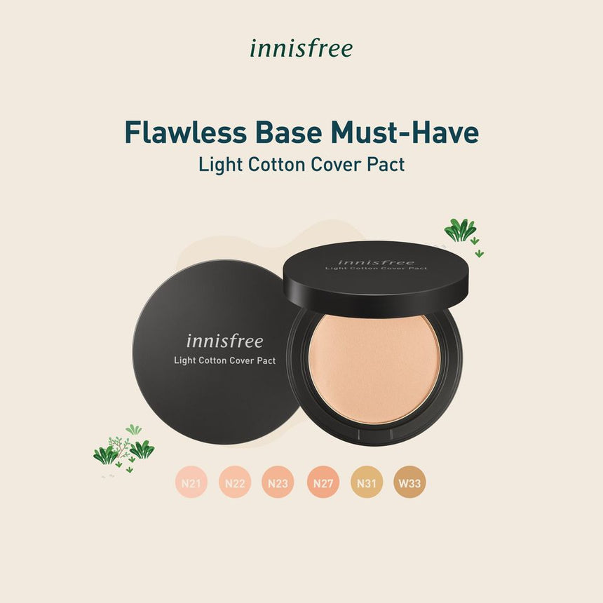 Phấn Phủ Innisfree Light Cotton Cover Pact - Kallos Vietnam