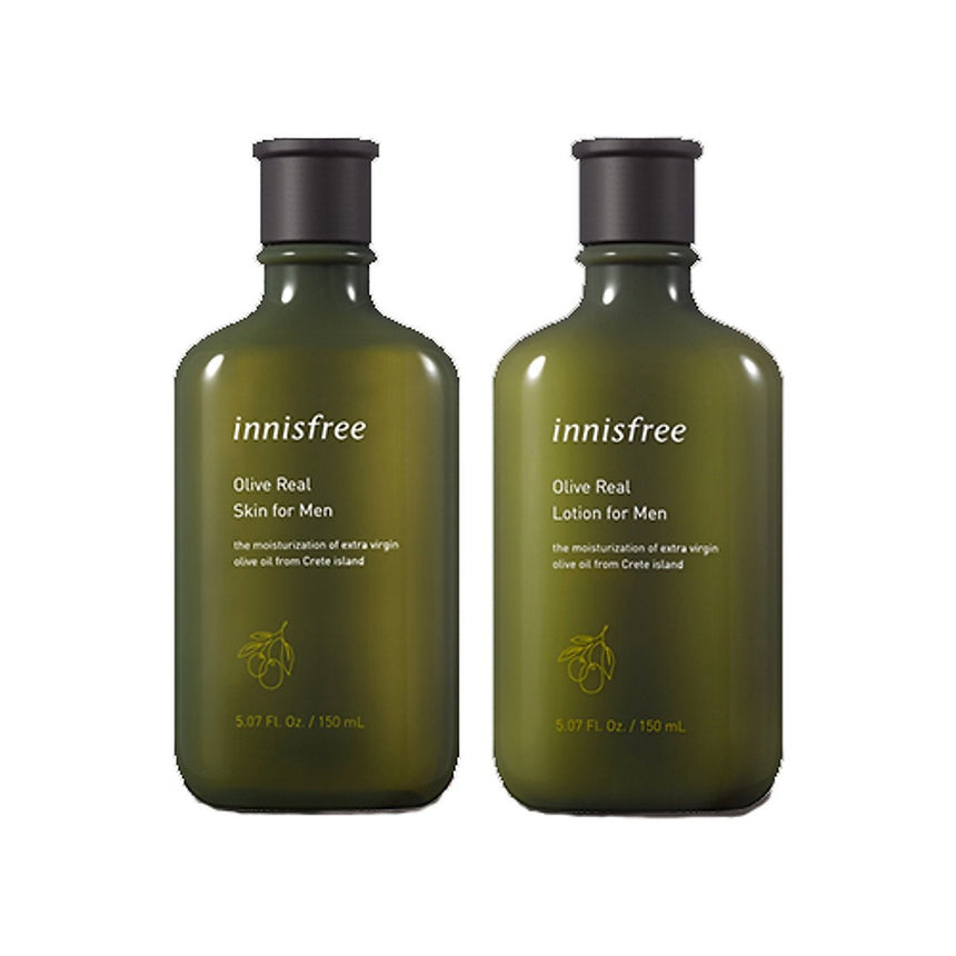 Dưỡng Da Nam Innisfree Olive Real Lotion For Men - Kallos Vietnam