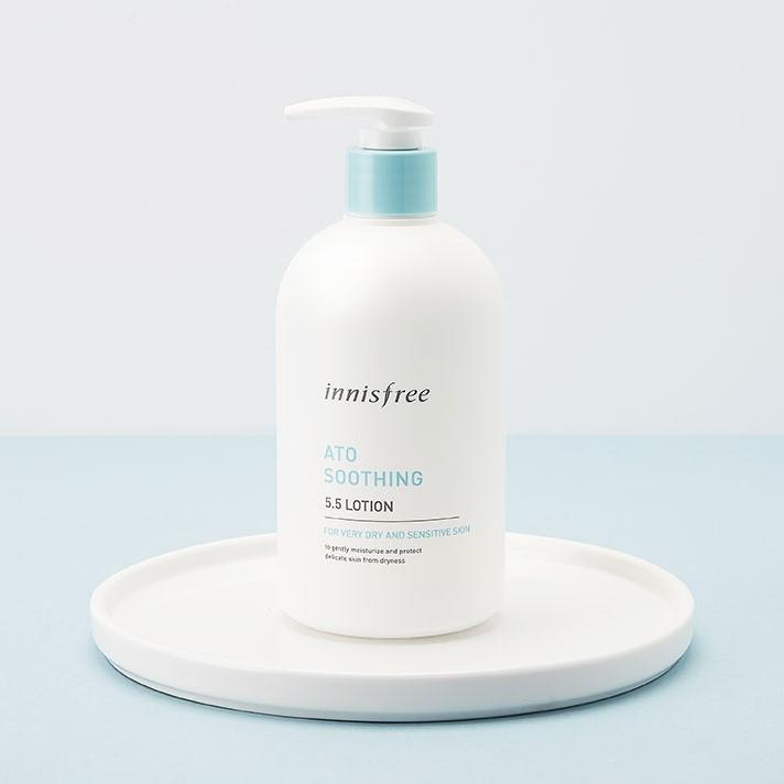 Sữa Dưỡng Thể Innisfree Ato Soothing 5.5 Lotion - Kallos Vietnam