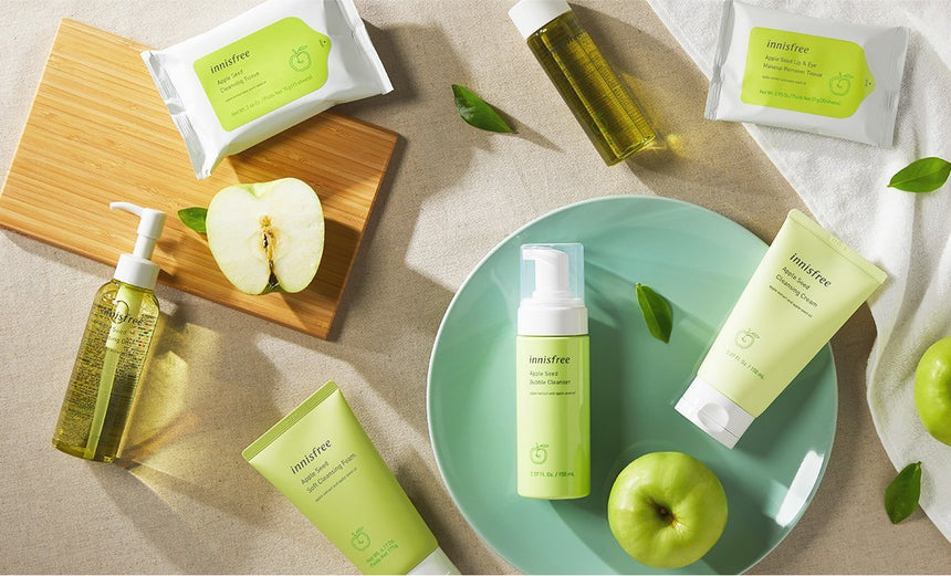 Sữa Rửa Mặt Innisfree Apple Seed Bubble Cleanser - Innisfree - Kallos Vietnam