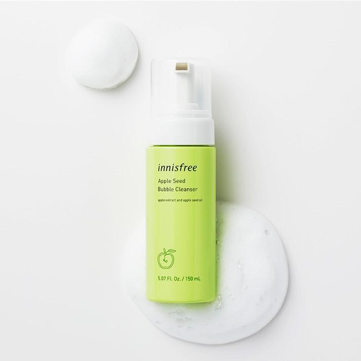 Sữa Rửa Mặt Innisfree Apple Seed Bubble Cleanser - Kallos Vietnam