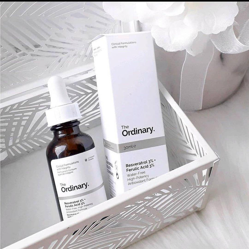 Tinh Chất The Ordinary Resveratrol 3% Ferulic Acid 3% - Kallos Vietnam
