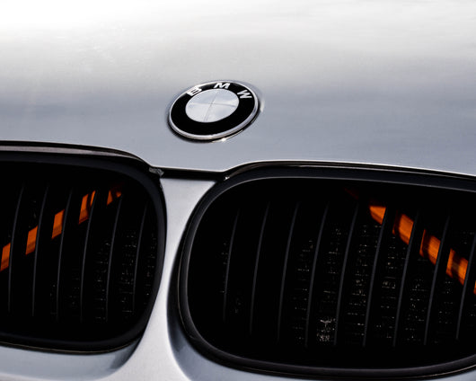 Orange Luminescent V BARS Overlay FOR BMW Vinyl FITS YOUR BMW'S V BRACES / CRASH BARS