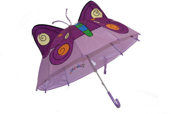 Butterfly Blooms Umbrella - 3D