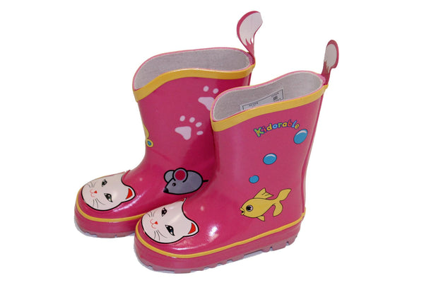 Happy Go Lucky Cat Gumboot