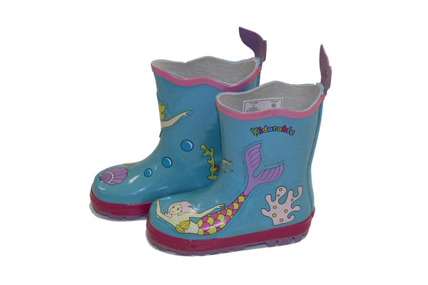 Mermaid Swims Gumboot