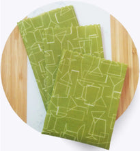 Load image into Gallery viewer, Beeswax Wrap - Time for Cocktails set/3