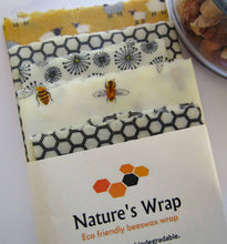 Load image into Gallery viewer, Beeswax Wrap - Spring Lamb set/5