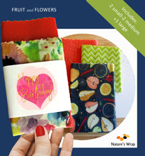 Load image into Gallery viewer, Beeswax Wrap - Summer Fruit