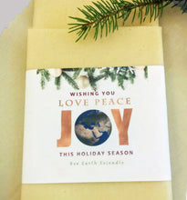 Load image into Gallery viewer, Beeswax Wrap - Love-Peace-Joy
