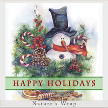 Load image into Gallery viewer, Beeswax Wrap - Happy Holidays