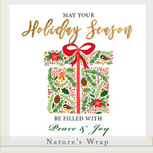 Load image into Gallery viewer, Beeswax Wrap - Holiday Season