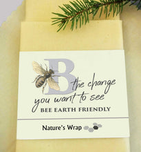 Load image into Gallery viewer, Beeswax Wraps-Be The Change You Want to See