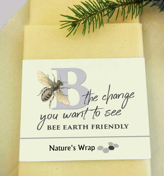 Beeswax Wraps-Be The Change You Want to See