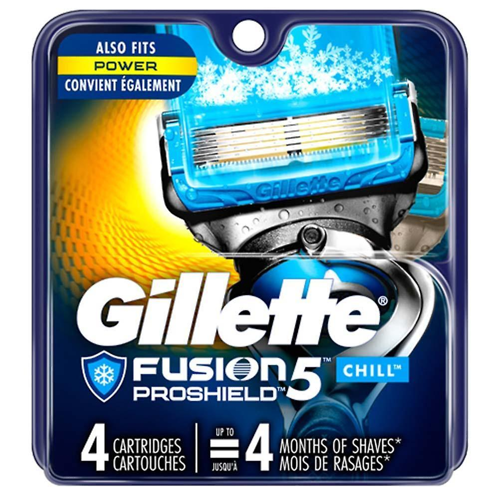 Gillette Fusion Proshield Chill 4 Blades