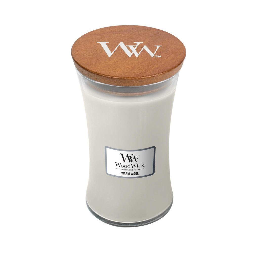 Woodwick Large Jar Warm Wool