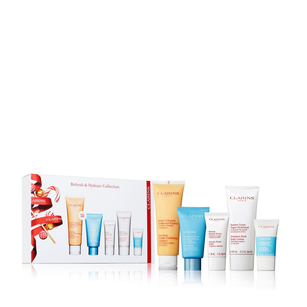 CLARINS REFRESH & HYDRATE COLLECTION