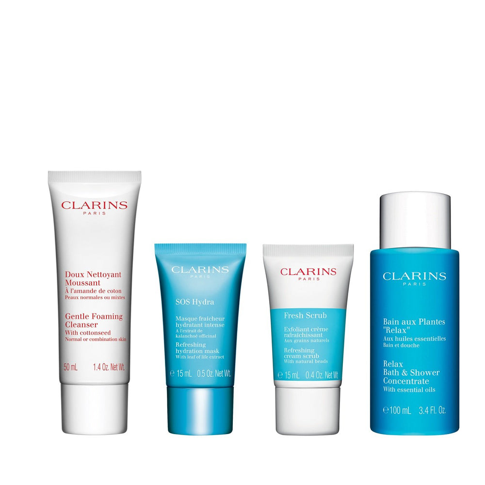CLARINS HYDRATION HEROS COLLECTION