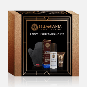 BELLAMIANTA MEDIUM LIQUID GOLD TAN SET