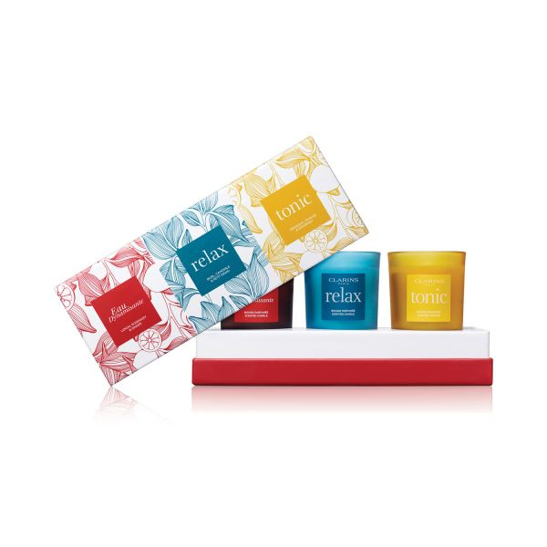 Clarins Trio Candle Set