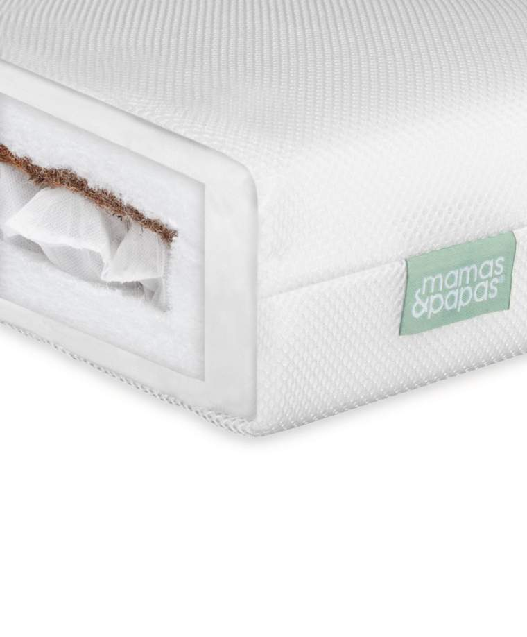 Mana & Papas  Dual Core Cotbed Mattress
