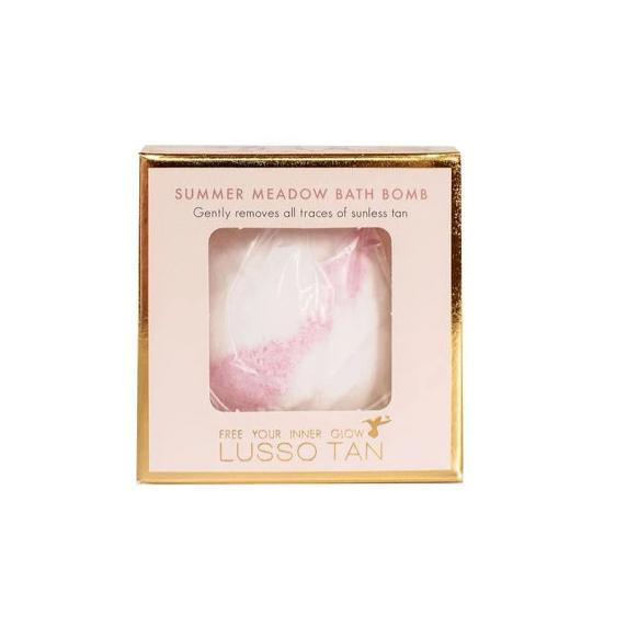 Lusso Tan Bath Bomb Tan Remover Summer Meadow