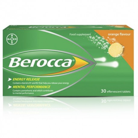 BEROCCA EFFERVESCENT TABLETS ORIGINAL 30 PACK