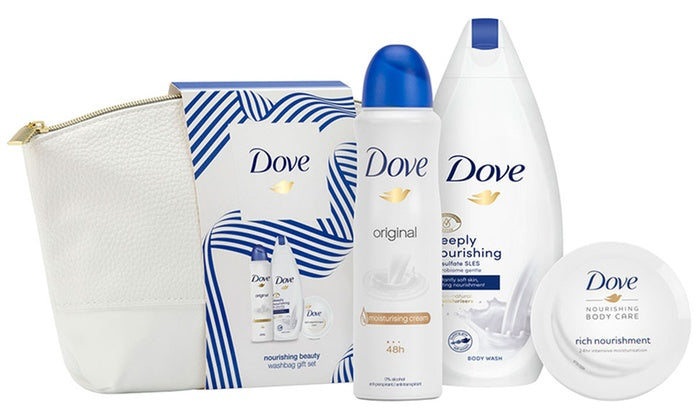 Dove Lady Nourish Beauty Washbag