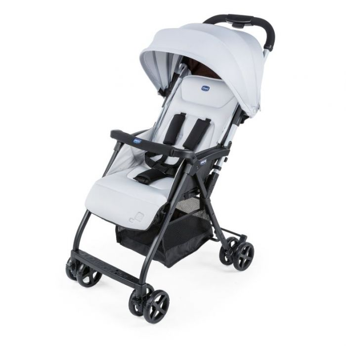 CHICCO OHLALA2 PUSHCHAIR IN SILVER