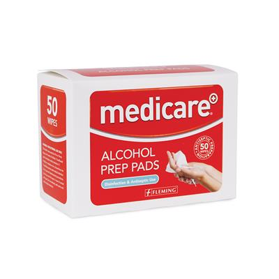 Medicare Alcohol Prep Pads Antiseptic