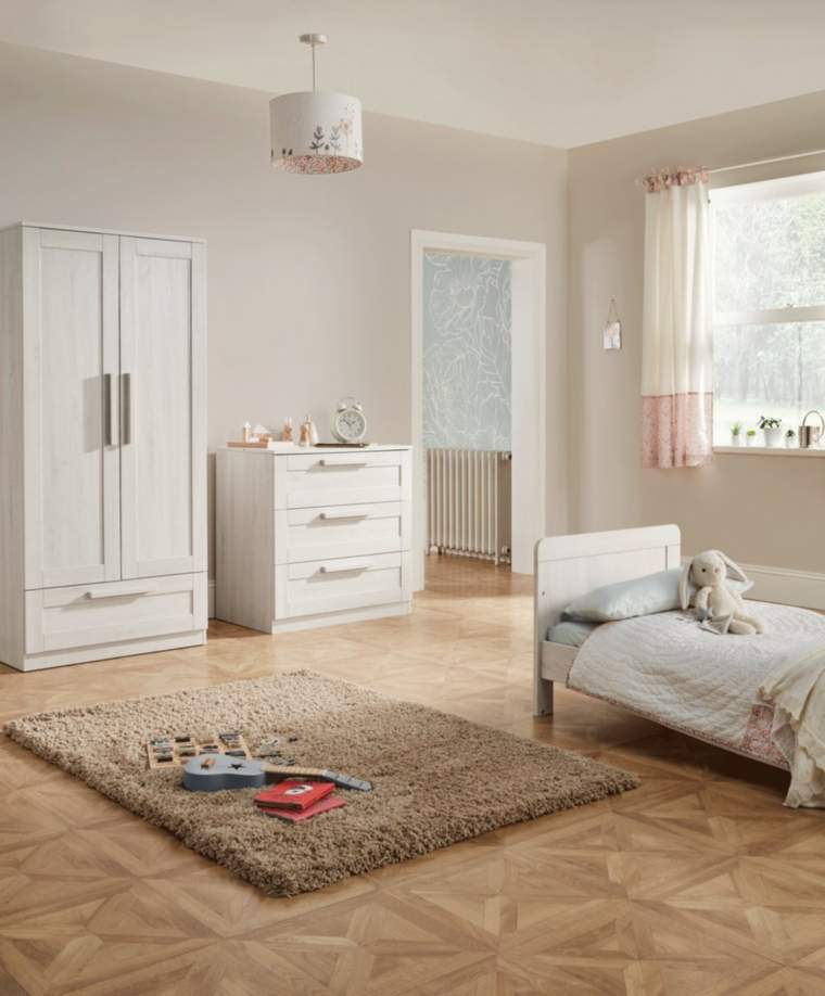 Mamas & Papas Atlas 3 Piece Furniture Set in Nimbus White Colour