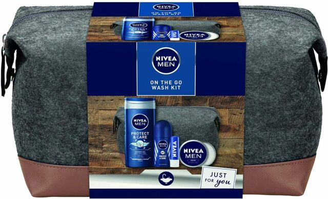 Nivea Men On The Go Wash Set