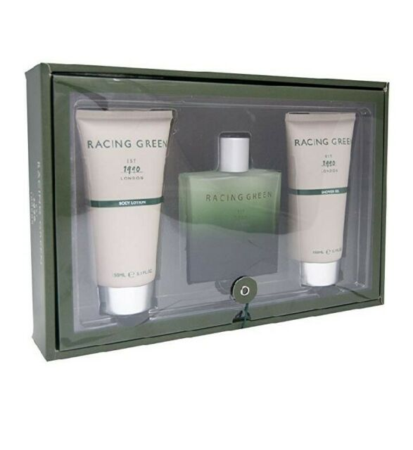 Racing Green 100ml 3 Piece Set