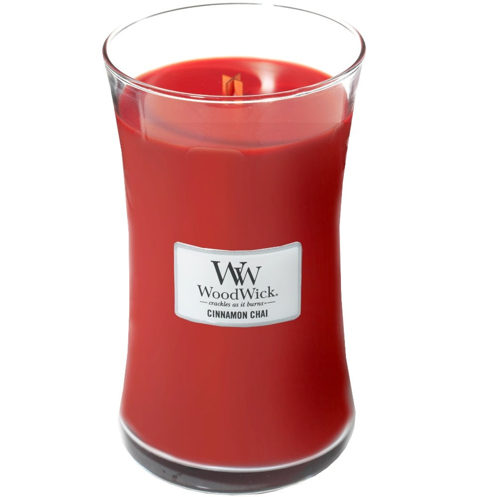 Woodwick Large Jar Cinnamon Chai